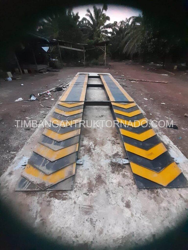 Timbangan Truk Tornado di Koperasi Permata Mulya (2)