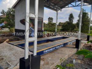 Timbangan Truk Tornado di PT. Barito Putra (4)