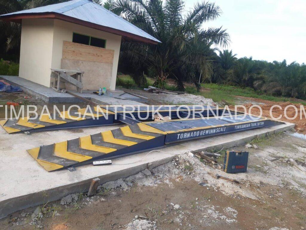 Timbangan Truk Tornado di PT. Gawi Bandep (5)