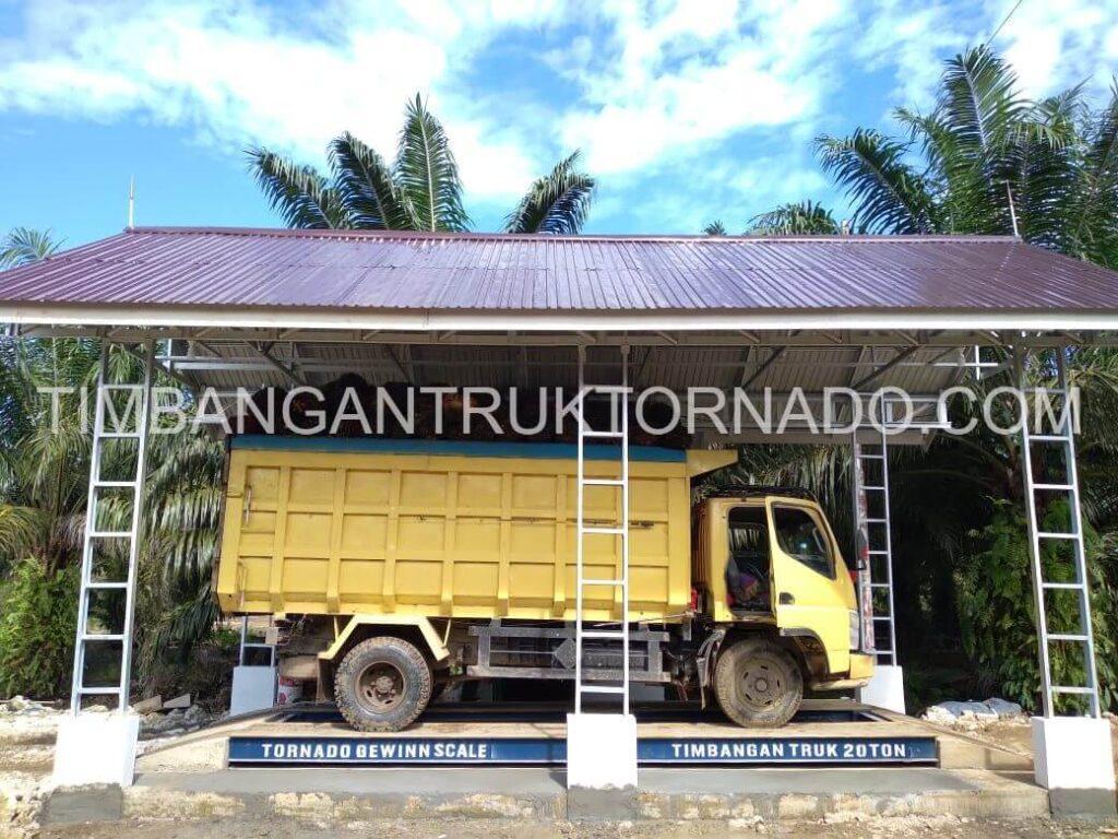 Timbangan Truk Tornado di PT. Palma Prima Plantation (14)