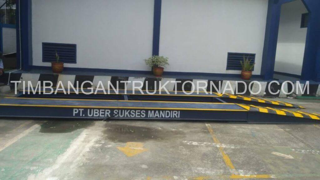 Timbangan Truk Tornado di PT. Uber Sukses Mandiri (1)